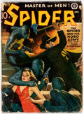 Pulps:Hero, The Spider - November 1940 (Popular) Condition: VG-....