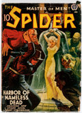 Pulps:Hero, The Spider - January 1941 (Popular) Condition: GD/VG....