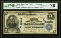 North Rose, NY - $5 1902 Date Back Fr. 593 The First National Bank Ch. # (E)10016 PMG Very Fine 20