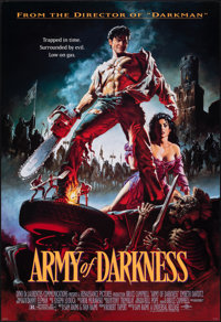 "Army of Darkness (Universal, 1992). Rolled, Very Fine/Near Mint. One Sheet (26.75"" X 39.75""). Michael Hussar A..."