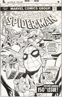 Gil Kane and Frank Giacoia Amazing Spider-Man #150 Cover Original Art (Marvel, 1975)