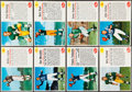 Football Cards:Sets, 1962 Post Cereal Football Partial Set (89/200)....