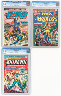 Amazing Adventures #25, 30, and 34 CGC-Graded Group - Don Rosa Collection (Marvel, 1974-76).... (Total: 3 Comic Books)
