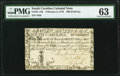 Colonial Notes:South Carolina, South Carolina February 8, 1779 $90 PMG Choice Uncirculated 63.. ...