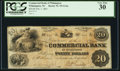 Wilmington, NC- Commercial Bank of Wilmington $20 Feb. 1, 1861 PCGS Very Fine 30