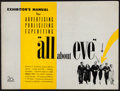 "Movie Posters:Academy Award Winners, All About Eve (20th Century Fox, 1950). Folded, Fine+. Cut Pressbook (18 Pages, 14.5"" X 11""). Academy Award Winners.. ..."