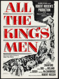 """Movie Posters:Academy Award Winners, All the King's Men (Columbia, 1949). Very Fine-. Uncut Pressbook (8 Pages, 21"""" X 16""""). Academy Award Winners.. ..."""
