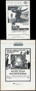 """Movie Posters:Action, The French Connection & Other Lot (20th Century Fox, 1971). Overall: Very Fine-. Uncut Pressbooks (3) (Multiple Pages, 8.5"""" ..."""