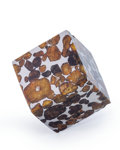 "Meteorites:Palasites, Sericho Meteorite Cube. Pallasite. Kenya - (1°5'41.16""N, 39°6'8.30""E). Found: 2016. 1.14 x 1.13 x 1.01 inches ..."