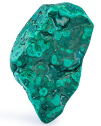 Polished Malachite DR Congo 5.87 x 3.42 x 1.48 inches (14.90 x 8.68 x 3.75 cm)