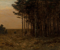 Charles Warren Eaton (American, 1857-1937) Edge of the Forest, 1903 Oil on canvas 30 x 36 inches