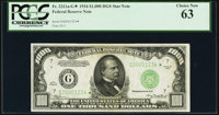 Fr. 2211-G* $1,000 1934 Federal Reserve Note. PCGS Choice New 63