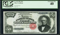 Large Size:Silver Certificates, Fr. 333 $50 1891 Silver Certificate PCGS Extremely Fine 40.. ...