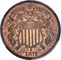 1872 2C MS65+ Red and Brown PCGS. CAC....(PCGS# 3613)