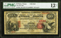 El Paso, TX - $10 1875 Fr. 420 The First National Bank Ch. # 2532 PMG Fine 12 Net