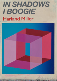 Harland Miller (b. 1964) In Shadows I Boogie, 2019 Hardcover book with screenprint 12-5/8 x 9 x 1
