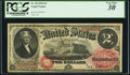 Large Size:Legal Tender Notes, Fr. 49 $2 1878 Legal Tender PCGS Very Fine 30.. ...