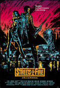 """Movie Posters:Action, Streets of Fire (Universal, 1984). Rolled, Very Fine+. One Sheet (27"""" X 41""""). Action.. ..."""