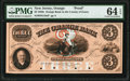 Obsoletes By State:New Jersey, Orange, NJ- Orange Bank $3 18__ as G18a as Wait 1807 Proof PMG Choice Uncirculated 64 EPQ.. ...