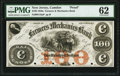 Camden, NJ- Farmers and Mechanics Bank $100 18__ G16a as Wait 316 Proof PMG Uncirculated 62