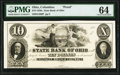 Obsoletes By State:Ohio, Columbus, OH- State Bank of Ohio, Franklin Branch $10 185_ G500 Wolka 0893-35 Proof PMG Choice Uncirculated 64.. ...