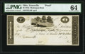 Obsoletes By State:Ohio, Zanesville, OH- Muskingum Bank $5 18__ G10 Wolka 2945-15 PMG Choice Uncirculated 64.. ...