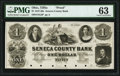 Obsoletes By State:Ohio, Tiffin, OH- Seneca County Bank $1 18__ G2 Wolka 2533-01 Proof PMG Choice Uncirculated 63, 6 POCs.. ...