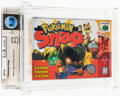 Video Games:Nintendo, Pokemon Snap Wata 9.2 A++ Sealed N64 Nintendo 1999 USA....