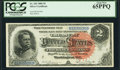 Large Size:Silver Certificates, Fr. 242 $2 1886 Silver Certificate PCGS Gem New 65PPQ....