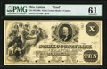 Canton, OH- Stark County Bank at Canton, Ohio $10 18__ as G16 Wolka 0280-06 Proof PMG Uncirculated 61