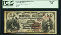 National Bank Notes:Texas, Port Lavaca, TX - $20 1882 Brown Back Fr. 504 The First National Bank Ch. # (S)5367 PCGS Very Fine 30.. ...