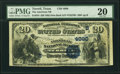 Terrell, TX - $20 1882 Date Back Fr. 555 The American National Bank Ch. # (S)4990 PMG Very Fine 20