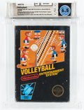 Video Games:Nintendo, Volleyball [Hangtab, 3 Code, Mid-Production] Wata 6.5 CIB NES Nintendo 1987 USA....
