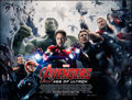 """Movie Posters:Action, The Avengers: Age of Ultron (Walt Disney Studios, 2015). Rolled, Fine. British Quad (30"""" X 40"""") DS Advance. Action.. ..."""