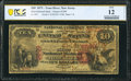 National Bank Notes:New Jersey, Toms River, NJ - $10 1875 Fr. 419 The First National Bank Ch. # 2509 PCGS Banknote Fine 12 Details.. ...