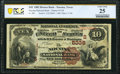 National Bank Notes:Texas, Nocona, TX - $10 1882 Brown Back Fr. 490 The Nocona National Bank Ch. # (S)5338 PCGS Banknote Very Fine 25.. ...