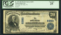 National Bank Notes:Texas, Sealy, TX - $20 1902 Plain Back Fr. 650 The Sealy National Bank Ch. # 6390 PCGS Very Fine 25.. ...