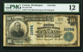 National Bank Notes:Washington, Conway, WA - $10 1902 Plain Back Fr. 634 The First National Bank Ch. # 11984 PMG Fine 12.. ...