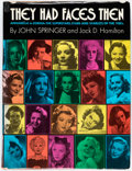 Books:Hardcover, Heavily Autographed Copy of John Springer's They Had Faces Then Hardcover Edition (Citadel, ...