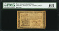 New Jersey January 9, 1781 1s 6d PMG Choice Uncirculated 64