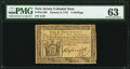 New Jersey January 9, 1781 5s PMG Choice Uncirculated 63