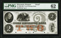 Obsoletes By State:Wisconsin, Waupun, WI- Corn Exchange Bank $2 18__ as G4a as Krause G4a Proof PMG Uncirculated 62.. ...