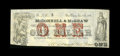 Obsoletes By State:Louisiana, New Orleans, LA- McDonnell & McGraw $1 Jan. 15, 1862. ...