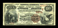 National Bank Notes:Pennsylvania, Scottdale, PA - $10 1882 Brown Back Fr. 490 The Broadway NB Ch. # (E)5974. ...