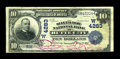 National Bank Notes:Montana, Butte City, MT - $10 1902 Date Back Fr. 619 The Silver Bow NB Ch. # (W)4283. ...