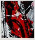Prints & Multiples, Futura (b. 1955). Helix Object (Red), 2008. Serigraph in colors on Coventry paper. 40-1/2 x 36 inche...