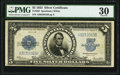 Large Size:Silver Certificates, Fr. 282 $5 1923 Silver Certificate PMG Very Fine 30.. ...