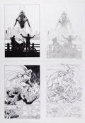 Original Comic Art:Panel Pages, Paul Davidson Moon Knight Story Page Original Art Group of 81 (Marvel, 2018).... (Total: 81 Original Art)