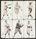 Baseball Cards:Lots, 1916 & 1917 E137 Zeenut PCL Collection (12). ...