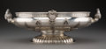 Silver & Vertu, An Italian Footed Figural Center Bowl, mid-20th century. Marks: (1-AL), effaced makers mark. 20 x 11-3/4 x 7 inches (50.8 x ...